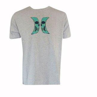 157d93b69b63b Camiseta Hurley Silk Skull Masculina