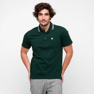 82f2052478e Camisa Polo Cavalera Piquet 2 Frisos