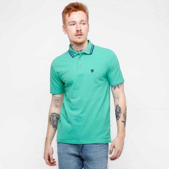 2d193695de Camisa Polo Cavalera Piquet Frisos - Verde água - Compre Agora
