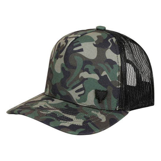 Boné Cavalera Aba Curva Camuflado Masculino - Compre Agora  015dff68d3e