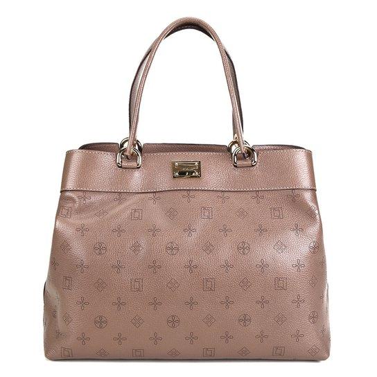 a3577155f Bolsa Couro Luz da Lua Handbag Monograma Feminina - Compre Agora ...