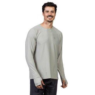 0e653913c Camisa Extreme UV com Proteção Solar Manga Longa com Encaixe para o Dedo  Ice FPU50+