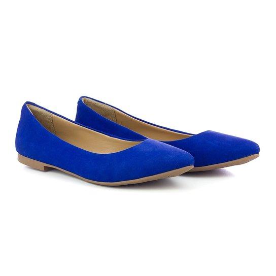 90715b641dc Sapatilha Q   A Casual Feminina - Azul Royal - Compre Agora