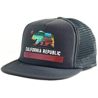 Boné Blanks Co Snap Back California Aba Reta b352e76c949