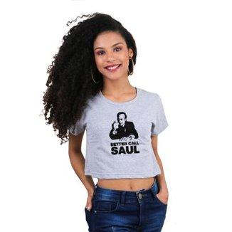 Cropped Morena Deluxe Better Call Saul Feminino 7094cf2abe4