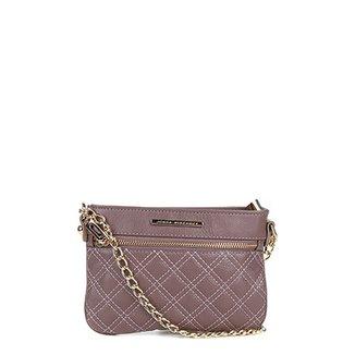 bef82673e Bolsa Couro Jorge Bischoff Mini Bag Basic Feminina