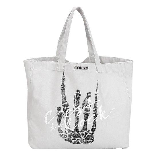8e7f273af Bolsa Colcci Shopper Estampa Frontal Rock | Zattini