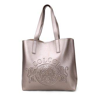 3f96903c6 Bolsa Colcci Shopper Brasão Feminina