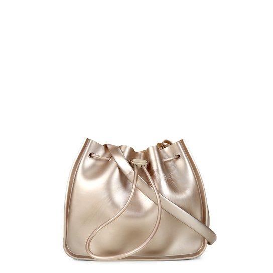 ad854d537 Bolsa Petite Jolie Saco Mellow Feminina - Dourado