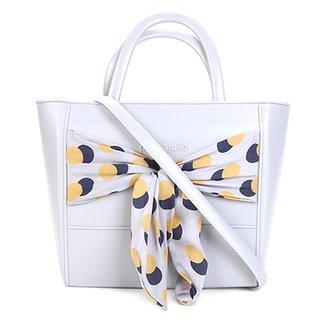 f8f946324 Bolsa Petite Jolie Shopper Daily Tecido Nó Feminina
