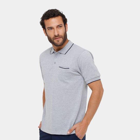 Camisa Polo Broken Rules Piquet Bolso Masculina - Compre Agora  b150dd50a74ed