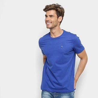 1727b4be24 Camiseta Manga Curta Ellus Básica Masculina