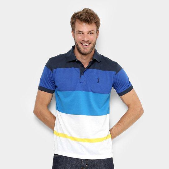 Camisa Polo Aleatory Listras Coloridas Masculina - Compre Agora ... 2bd9eb87a0e8e