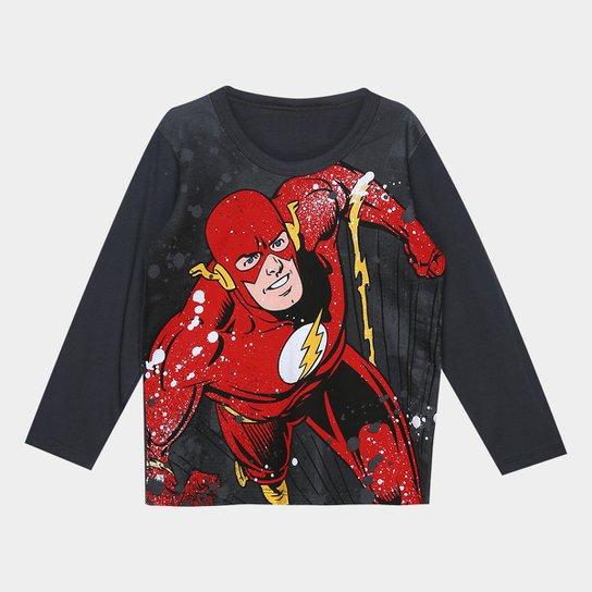 52870923e Camiseta Infantil Kamylus Heróis Manga Longa Masculina - Compre ...