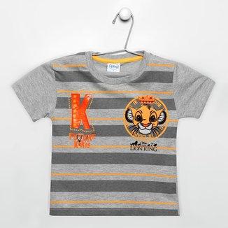 6957bee7e Camiseta Fakini Disney Rei Leão