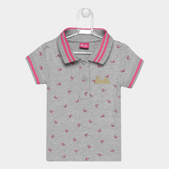 Camisa Polo Infantil Fakini Barbie Feminina - Compre Agora  cdc14b1b5d066