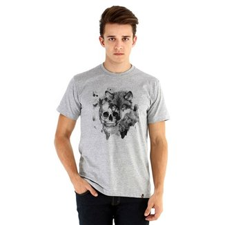 aa999d969ef7 Camiseta Ouroboros manga curta The Wolf