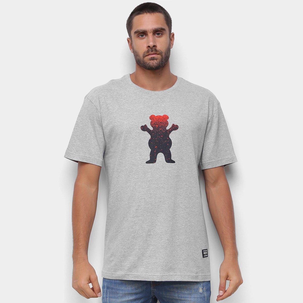 Camiseta Grizzly Og Bear Fadeway Masculina