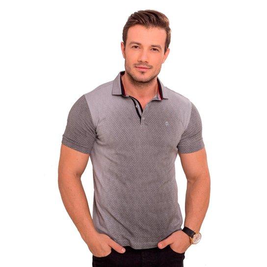 Camiseta Polo cinza degradê - Compre Agora  13fab674f0ea7