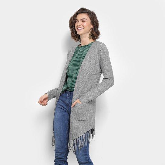35a575669258 Kimono Lily Fashion Tricot Franja Feminino | Zattini