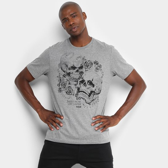 17682fc899d32 Camiseta MCD Smile and Cry Masculina - Compre Agora