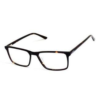 ad7e44b5f Armação De Óculos De Grau Cannes 3049 T 53 C Tartaruga Masculino