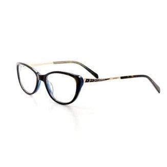 809bc591c Armação De Óculos De Grau Cannes 3080 T 53 C 4 Feminino