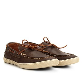 c2c8058d35 Dockside Couro Richards Relax Masculino