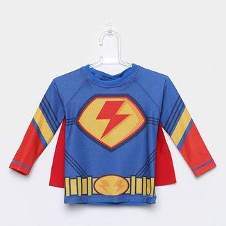 500a72cd2 Camiseta Infantil Tip Top Com Capa Masculina