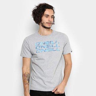 6b3540c054 Camiseta O Neill Est Triple Moire Masculina