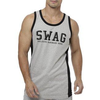 Camiseta Regata Masculina Local Cinza 74b66524c1b
