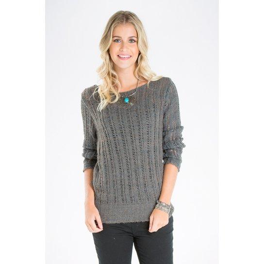 Blusa Trico Mercatto - Compre Agora   Zattini e6b24d7fb4