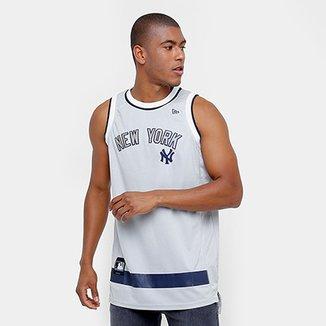 Camiseta Regata New Era MLB Basketball New York Yankees 46ba85a207d