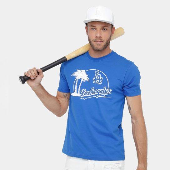 11008cc23 Camiseta MLB Los Angeles Dodgers New Era 10 City Masculina - Compre ...