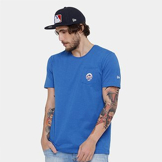 Camiseta MLB New York Mets New Era Mini Logo Masculina 4670588d691