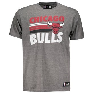 47f077a840 Camiseta New Era NBA Chicago Bulls