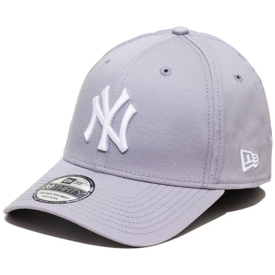 Boné New Era Aba Curva Fechado Mlb Ny Yankees Colo - Cinza - Compre ... d1733d5e86967