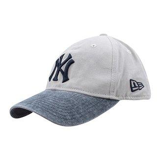 Boné New Era MLB New York Yankees Aba Curva 920 St A.L. East Patch 92b13cea7cf