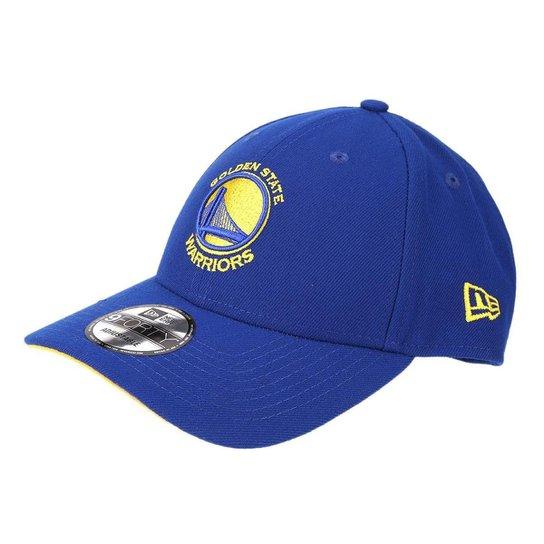 Boné New Era NBA Golden State Warriors Aba Curva Primary - Azul Royal ce11912af11