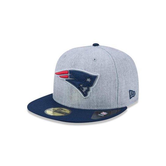 1449eddc54 Boné 5950 New England Patriots NFL Aba Reta New Era - Compre Agora ...