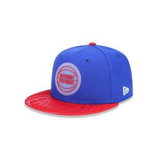 Boné 950 Detroit Pistons NBA Aba Reta New Era bab70912229