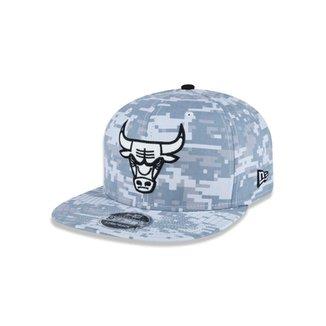Boné 950 Original Fit Chicago Bulls NBA Aba Reta Snapback New Era ad68eab453