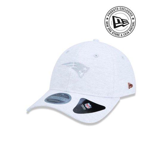 Boné 920 New England Patriots NFL Aba Curva New Era - Cinza - Compre ... bf863d488fe35