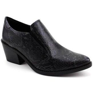 cc9e487e2 Ankle Boot Quiz Piton Feminina