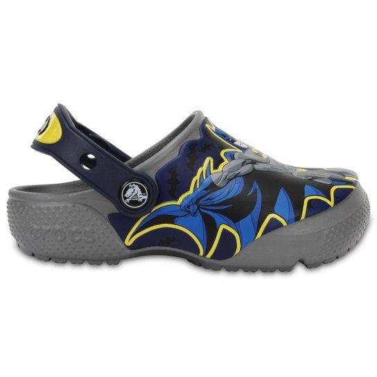 6a9167233 Crocs Infantil Funlab Batman Masculino - Cinza - Compre Agora