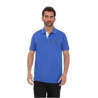 Camisa Polo New York Polo Club Slim 92596ebdba728
