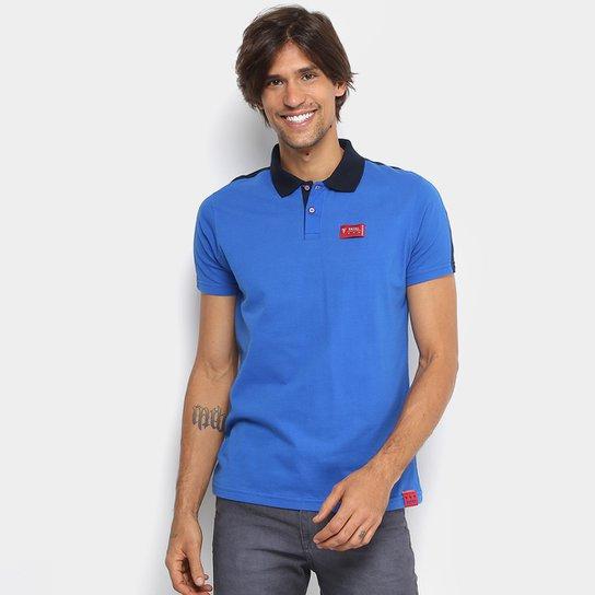 fbc12a67265 Camisa Polo Fatal Bicolor Masculina - Compre Agora