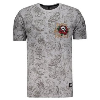 5fb79c72f7 Camiseta Fatal Especial Floral Masculina