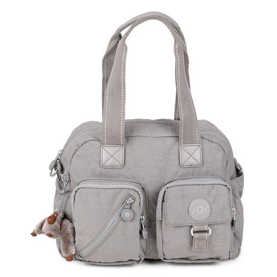 ad7eab3e2 Bolsa Kipling Handbag Defea Feminina - Cinza   Zattini