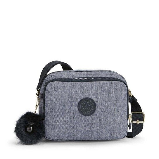 54b9a0414 Kipling Mini Bolsa Transversal Silen Cotton Feminina - Compre Agora ...